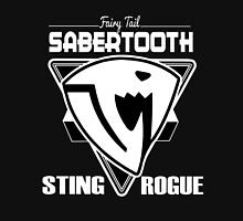Sabertooth Triangle White Hoodie
