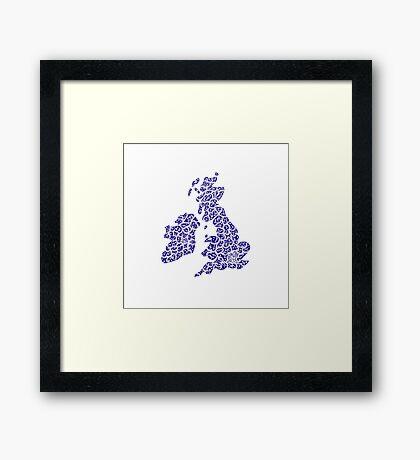 BritishIsles Framed Print