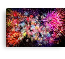 Light Show Bright Canvas Print
