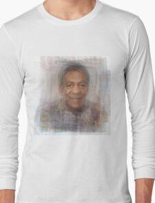 Bill Cosby Portrait Long Sleeve T-Shirt