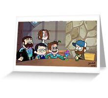SuperFalls! Greeting Card