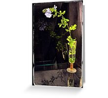 Still life with Cape Plumbago Greeting Card