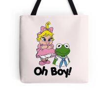 Muppet Babies - Kermit & Miss Piggy - Oh Boy Tote Bag