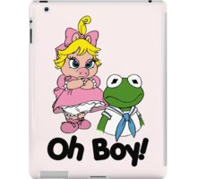 Muppet Babies - Kermit & Miss Piggy - Oh Boy iPad Case/Skin