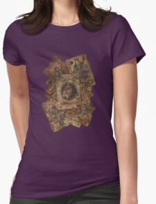 Scattered Joker Cards Womens Fitted T-Shirt
