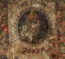 Scattered Joker Cards Sticker