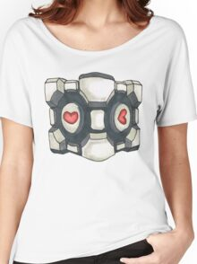 companion cube Women's Relaxed Fit T-Shirt