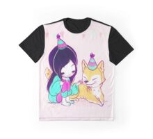 Party Hats Graphic T-Shirt