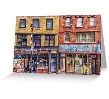 City Street Halifax Nova Scotia Greeting Card