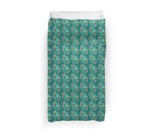Cthulhu the Cthinker in Creepy Teal Duvet Cover