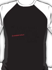 Dr. Spencer Reid's Quote T-Shirt