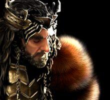 Thorin Oakenshield, King under the Mountain  Sticker