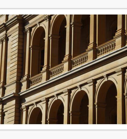 Golden Architecture Sticker