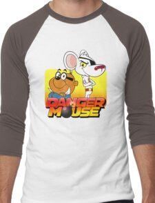 MOUSE IS DANGER Men's Baseball ¾ T-Shirt