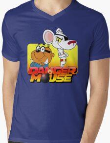 MOUSE IS DANGER Mens V-Neck T-Shirt
