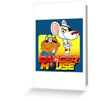 MOUSE IS DANGER Greeting Card