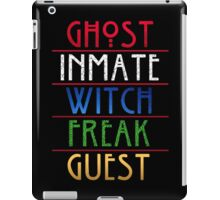 The American Horror Seasons iPad Case/Skin
