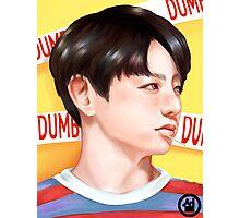 Jungkook Dumb Dumb Inspired Portrait Photographic Print