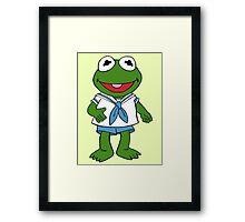 Muppet Babies - Kermit Framed Print