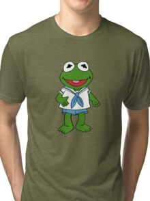 Muppet Babies - Kermit Tri-blend T-Shirt
