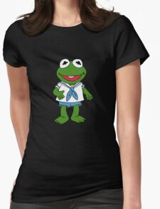 Muppet Babies - Kermit Womens Fitted T-Shirt