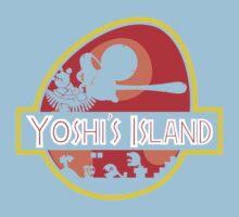 Jurassic Park - Yoshi's Island One Piece - Short Sleeve