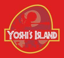 Jurassic Park - Yoshi's Island One Piece - Long Sleeve