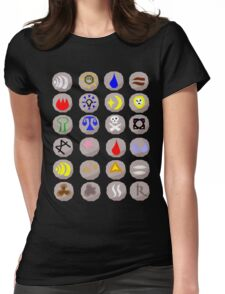 Runes --- Runescape Womens Fitted T-Shirt