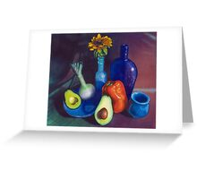 Still Life with Red Pepper Greeting Card