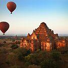 Balloons Over Bagan by Nicole Shea