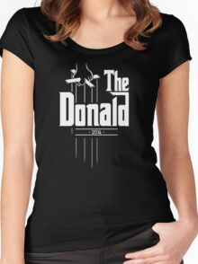 The Donald | Trump Shirt | Funny Political Design Women's Fitted Scoop T-Shirt