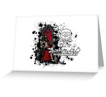 Captain Harlock Greeting Card