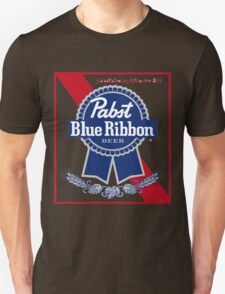 Pabst Blue Ribbon Beer PBR  T-Shirt