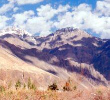 Nubra valley Sticker