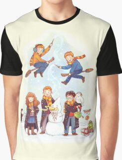 Mischievous Magical Merriment Graphic T-Shirt