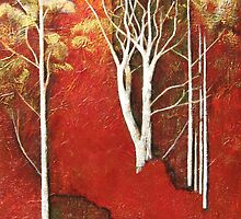 Huonbrook Ghost Gums by Karyn Fendley