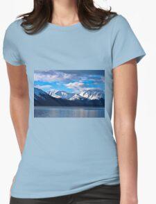 Turnagain Arm in Alaska Womens Fitted T-Shirt