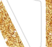 dg gold letters Sticker