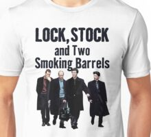 Lock, Stock and Two Smoking Barrels Unisex T-Shirt