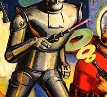 Retro Vintage CAPTAIN FUTURE NO. 1 PULP MAGAZINE ART Sticker
