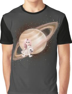 Lost in a Space / Saturnesse Graphic T-Shirt