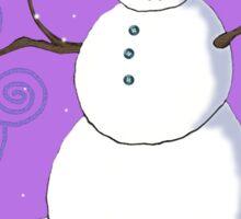 Mr. Frost Sticker