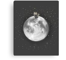Lost in a Space / Moonelsh Canvas Print