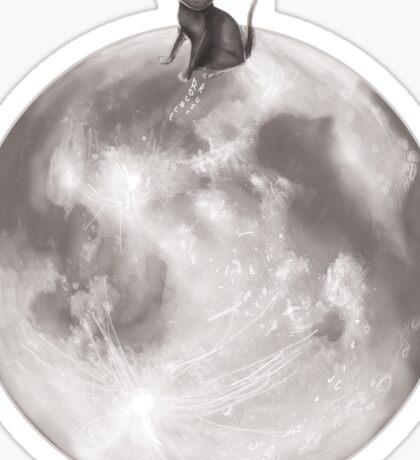 Lost in a Space / Moonelsh Sticker
