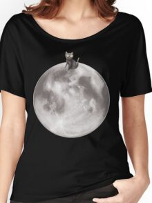 Lost in a Space / Moonelsh Women's Relaxed Fit T-Shirt