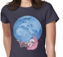 Lost in a Space / Homeckly Womens Fitted T-Shirt