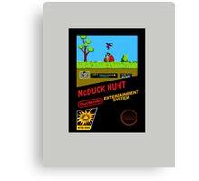 McDuck HUNT Canvas Print
