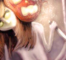 Dreaming of Halloween Sticker