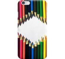 Diamond Shaped Colored Pencils iPhone Case/Skin