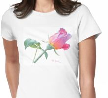 Rosebud Sir Walter Raleigh Womens Fitted T-Shirt